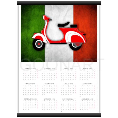 Calendario personalizzato con foto 2015