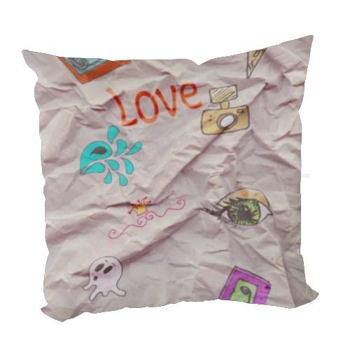 Cuscino personalizzato con grafiche