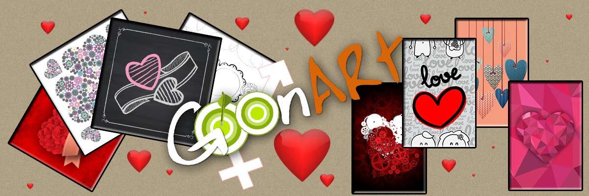 Idee per San Valentino dagli artisti di Goonart